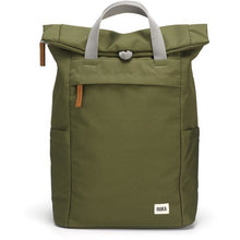 Load image into Gallery viewer, ROKA Sustainable Rucksack, Moss
