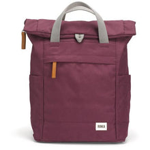 Load image into Gallery viewer, ROKA Sustainable Rucksack, Plum/sienna