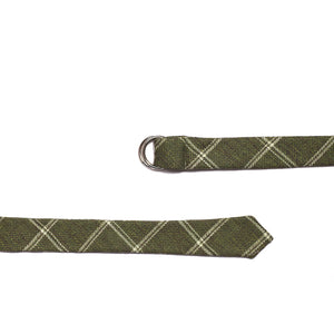 Medium Green Tie Belt