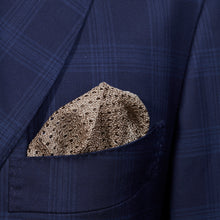 Load image into Gallery viewer, Beige Knitted Pocket Square