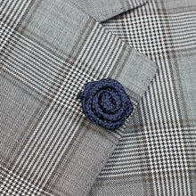 Load image into Gallery viewer, Dark Blue Rose Pin for Jacket