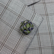 Load image into Gallery viewer, Green Rose Pin with Sample for Jacket