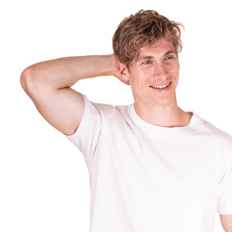 white t-shirt for excessive underarm sweat