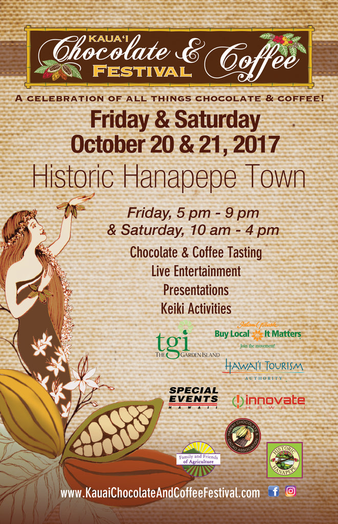 3rd Annual Kaua'i Chocolate & Coffee Festival