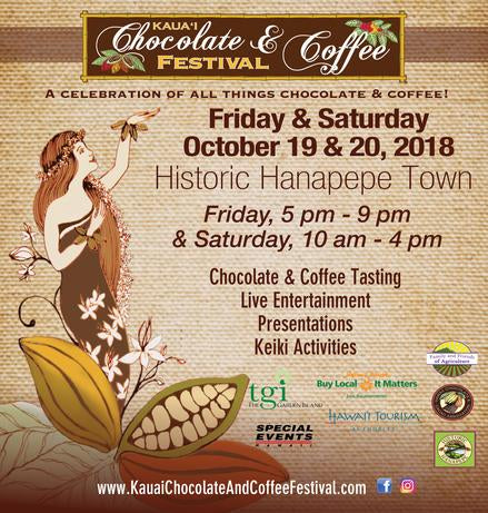 4th Annual Kaua'i Chocolate & Coffee Festival