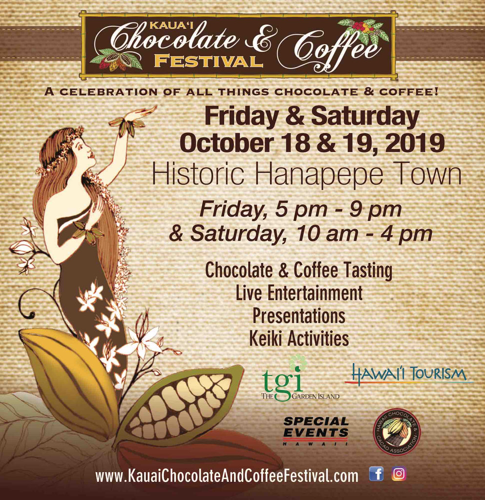 5th Annual Kaua'i Chocolate & Coffee Festival