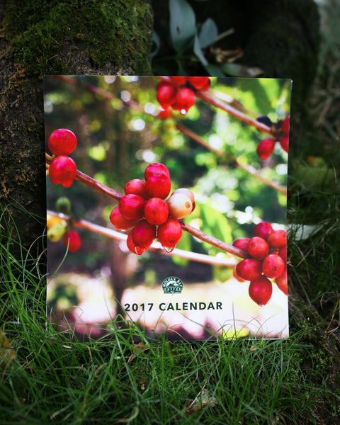 2017 Moloa'a Bay Coffee Calendar