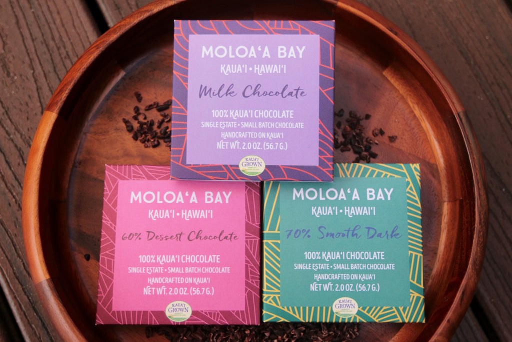Moloa'a Bay Chocolate - Chocolate Bar 2 oz