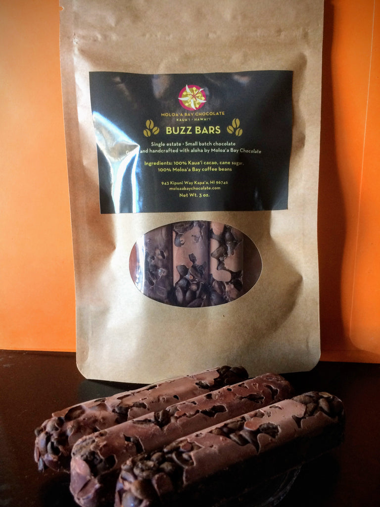 Moloa'a Bay Chocolate Buzz Bars