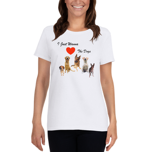 Love The Dogs - Women's T-Shirt