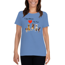 Load image into Gallery viewer, Love The Dogs - Women's T-Shirt