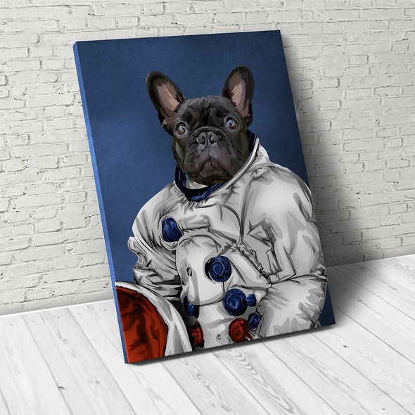 Astronaut  - Custom Pet Canvas