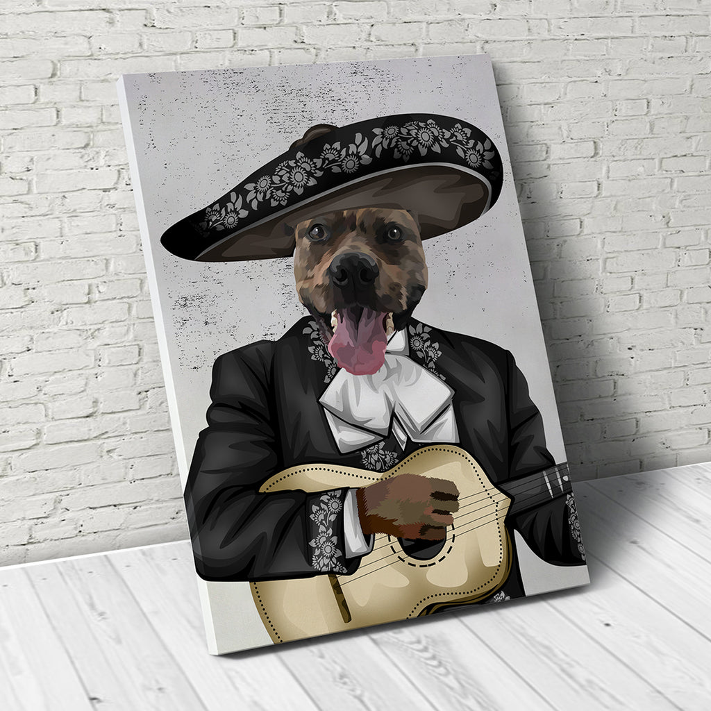 Music Legend  - Custom Pet Canvas
