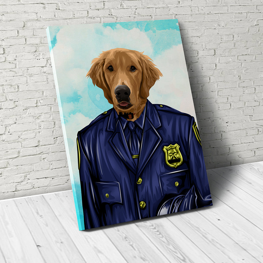 Paw Force  - Custom Pet Canvas