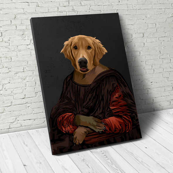 Royal Pup  - Custom Pet Canvas