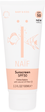 Natural Sunscreen factor 50 for baby and child - The Seed