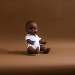 Organic doll romper - The Seed
