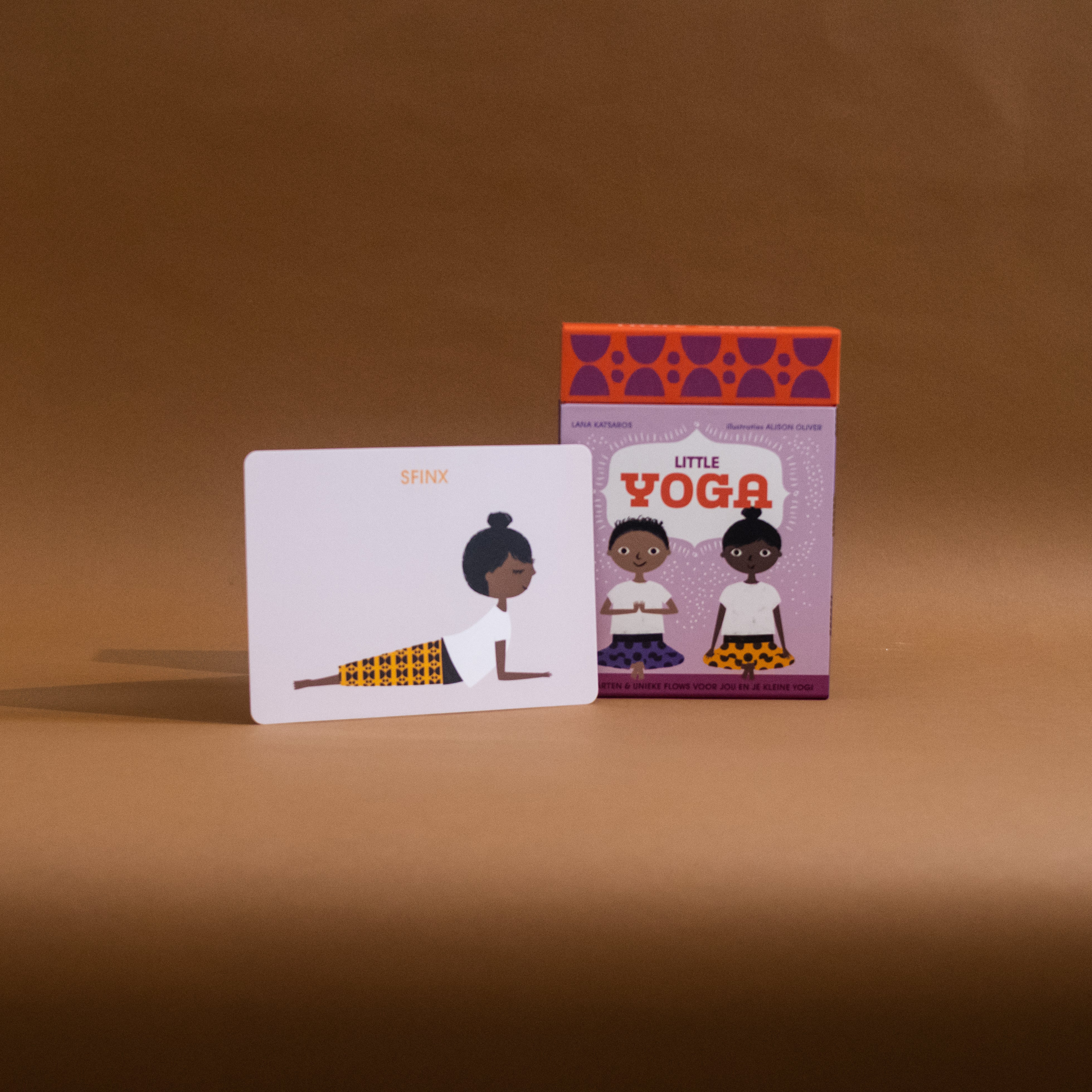 'Little Yoga' - Playcards - The Seed