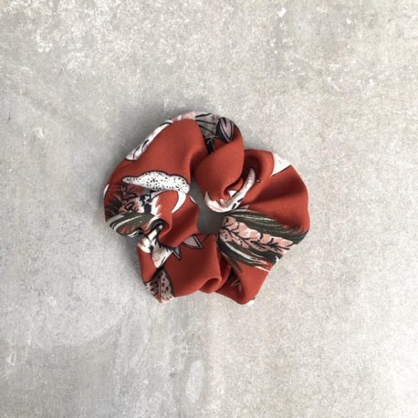 Handmade flower scrunchie - The Seed