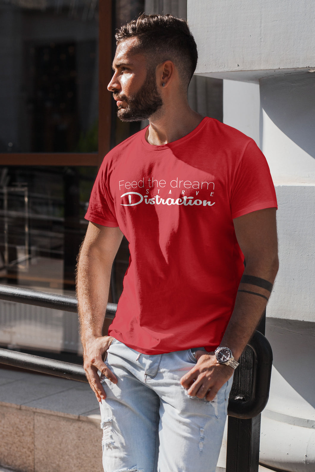 FEED THE DREAM - MENS TEE