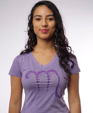 Load image into Gallery viewer, SCORPIO - SYMBOL - WOMENS V NECK TEE