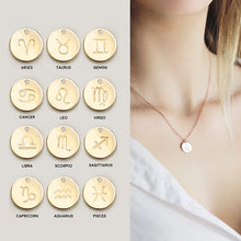Load image into Gallery viewer, Personalized Zodiac Necklace