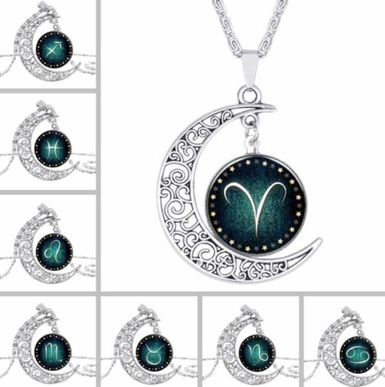 Horoscope Moon Pendant