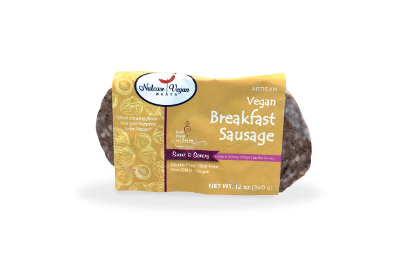 Nutcase Vegan Meats - Breakfast Sausage - 8 pack