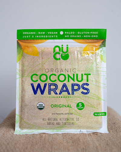 NUCO Coconut Wraps - 5 count