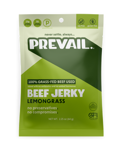 Prevail Grass Fed Beef Jerky - 2.25 oz