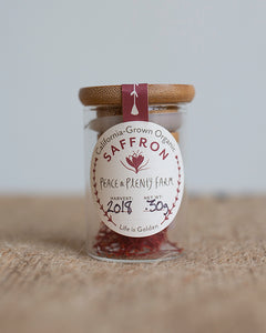 Peace and Plenty Farm Organic Saffron - .3 g