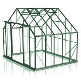 GREENHOUSE 10X10 DOUBLE DOOR POLY CARBONATE