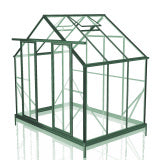 GREENHOUSE 8X6 DOUBLE DOOR POLY CARBONATE