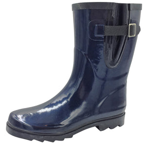 KATY NAVY GUMBOOT SZ 6