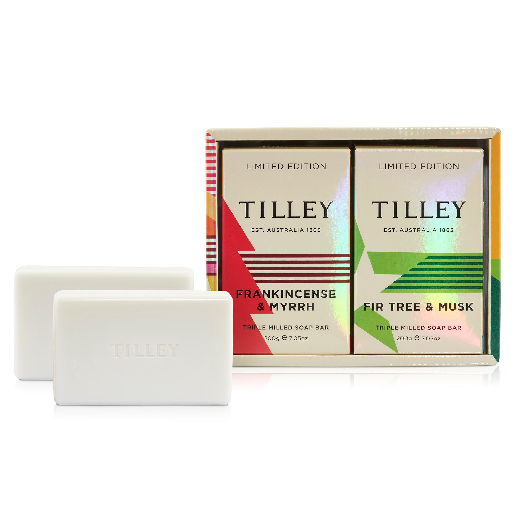 LE XMAS SOAP DUO TILLEY