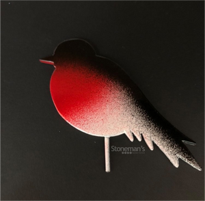 RED ROBIN SILHOUETTE