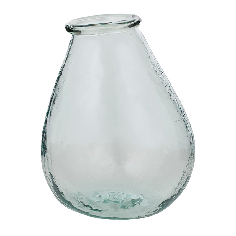 REVA RECYCLED GLASS VASE - TALL