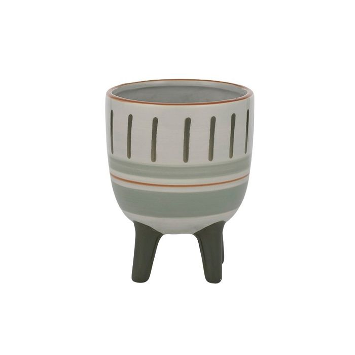 Rylee Ceramic Footed Pot Sml