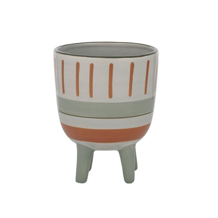 Rylee Ceramic Footed Pot Lge