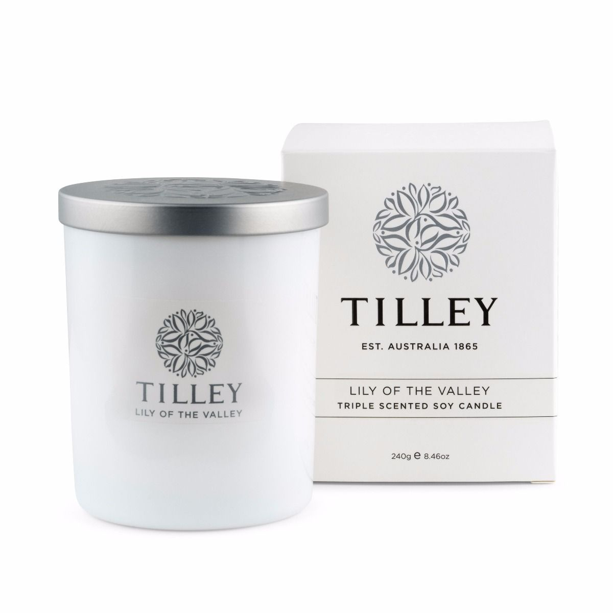 SOY CANDLE LILY OF THE VALLEY 45 HOUR