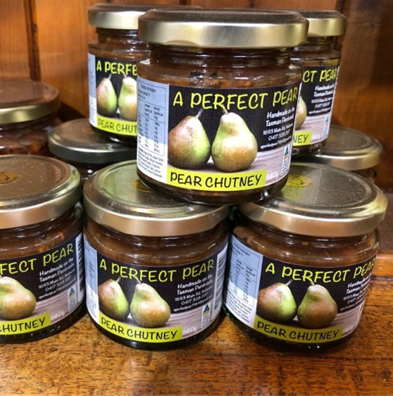 PEAR CHUTNEY 140GM
