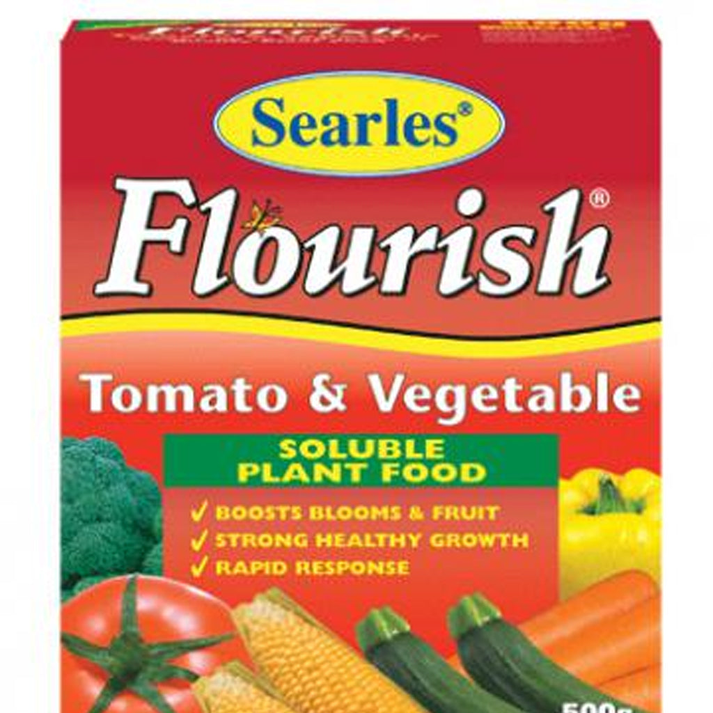 FERTILISER FLOURISH TOMATO & VEG 500GM