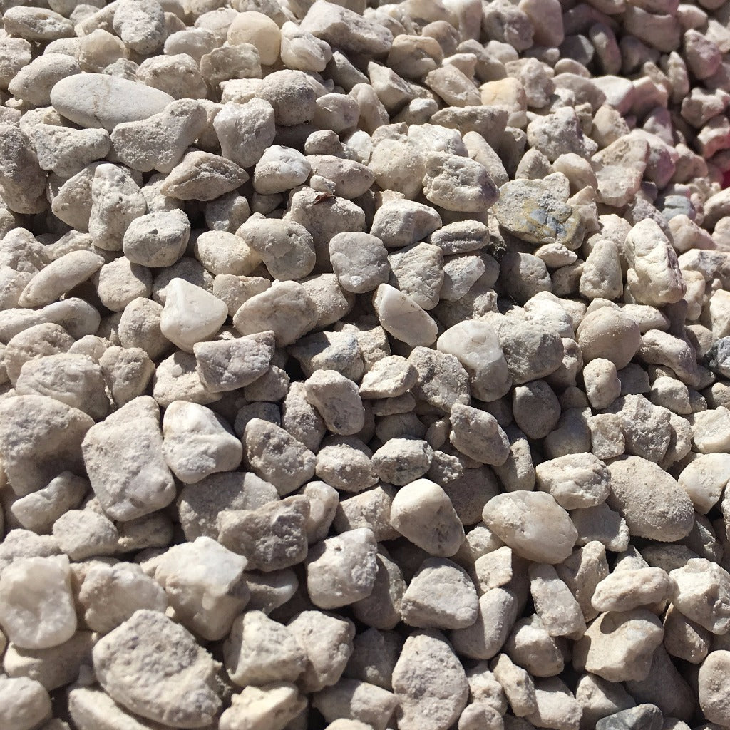 GRAVEL - WHITE PEBBLES 15MM 20 KG