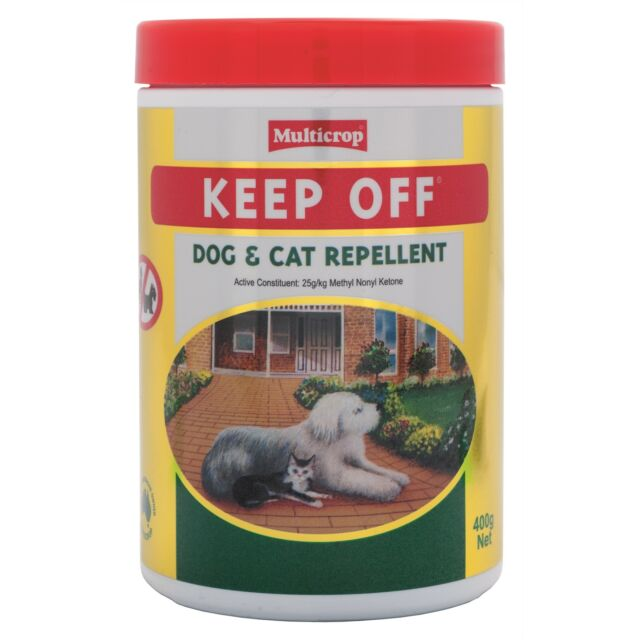 KEEP OFF DOG AND CAT REPELLENT
