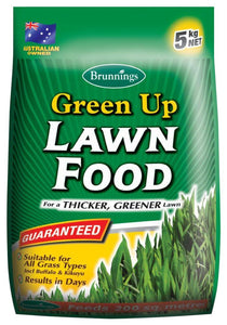FERTILISER LAWN FOOD GREEN UP 5KG