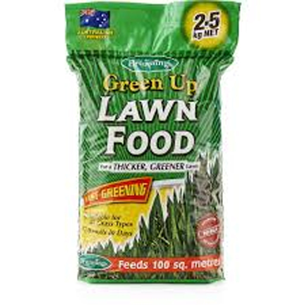FERTILISER LAWN FOOD GREEN UP 2.5KG