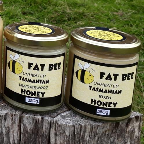 FAT BEE HONEY LEATHERWOOD 330g