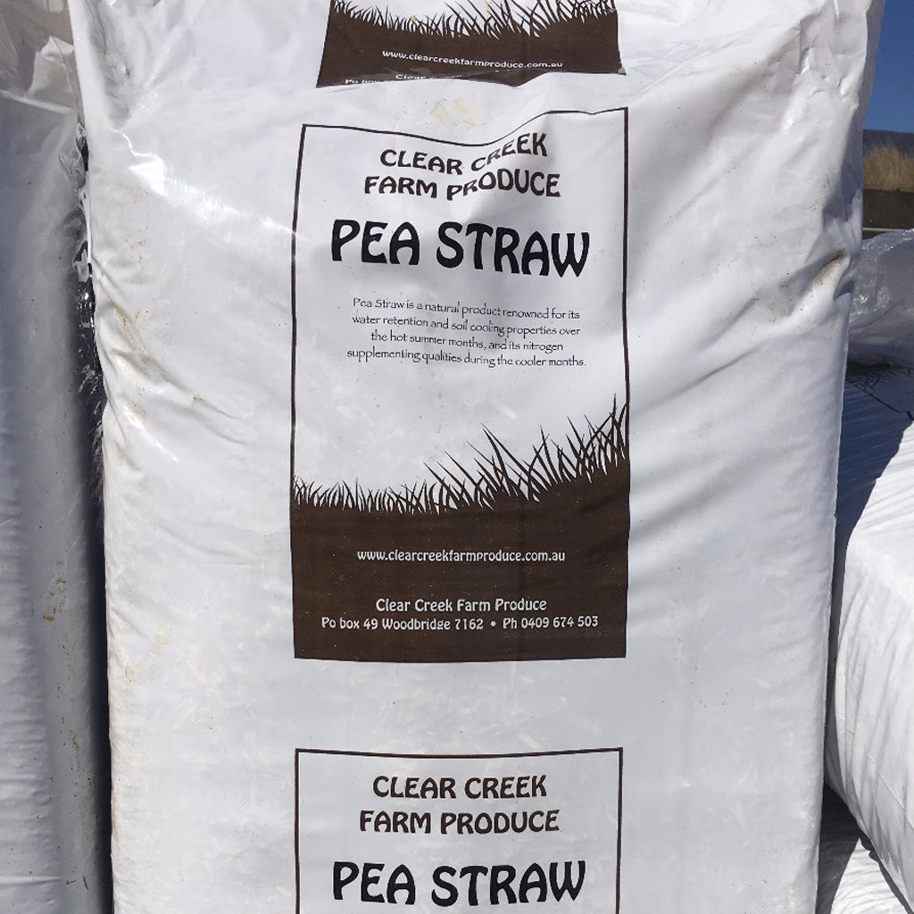 MULCH - PEA STRAW PACKAGED