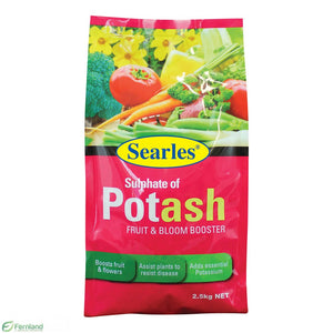 SULPHATE OF POTASH 2.5KG SEARLES
