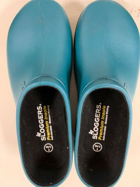 SLOGGERS PREMIUM SHOE WOMENS LAKE BLUE SZ 7